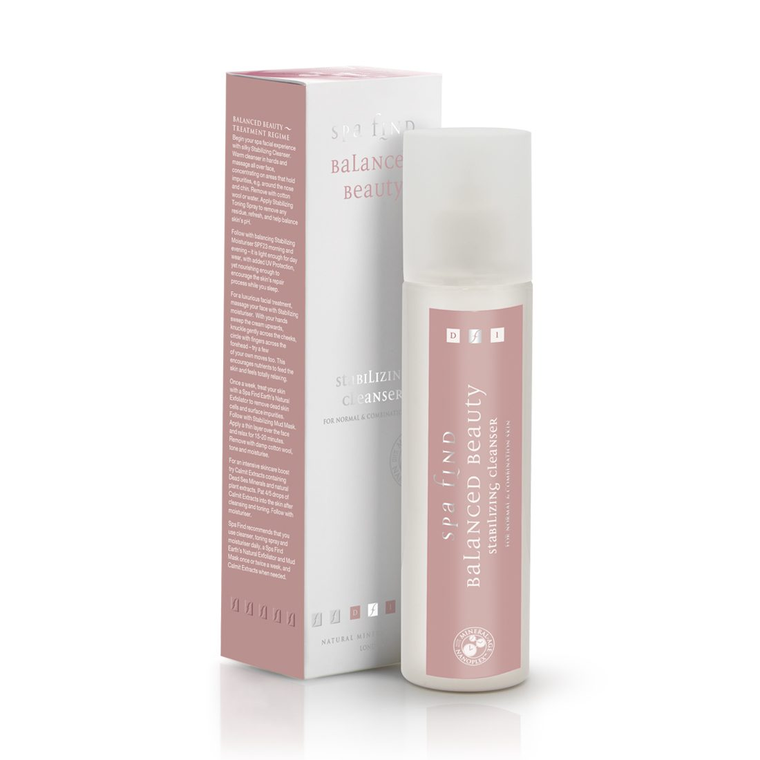 Spa Find Balanced Beauty Stabilizing Cleanser-250ml
